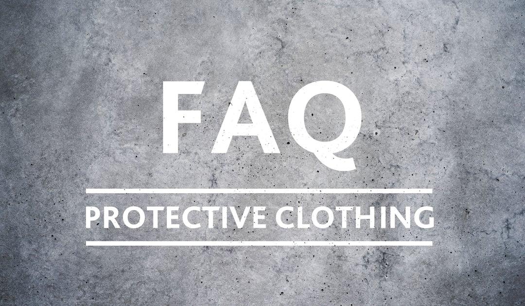 FAQ vêtement de protection
